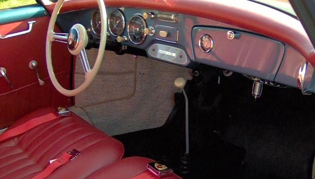 Porsche 1956 356A Restoration by Barchetta 3500