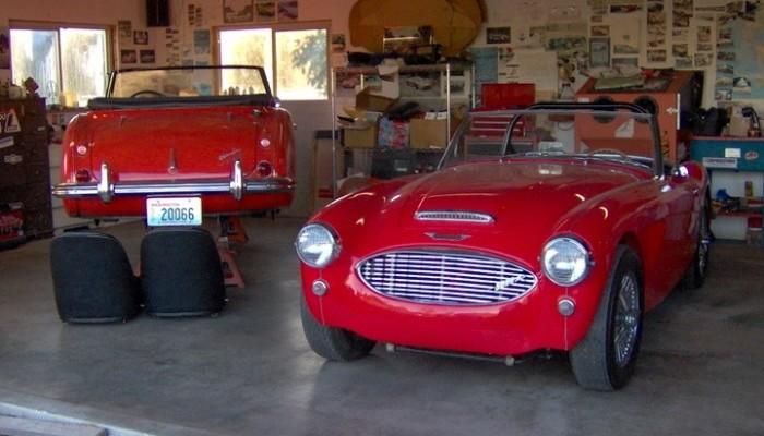 Austin Healey 3000 BJ8 Restoration by Barchetta 3500