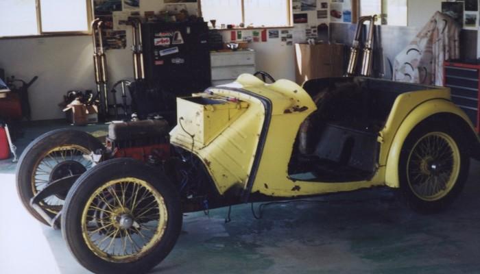 Austin Healey 100-4 Restoration by Barchetta 3500