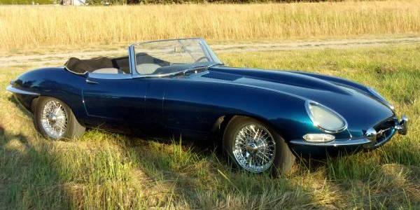 66 Jaguar XKE Roadster