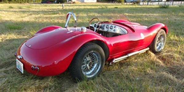 53 Maserati Barchetta Sports Racer